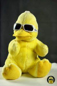 Warum ist der coole Erpel aus Beckum eigentlich gelb? Endlich gibt es Antworten!
