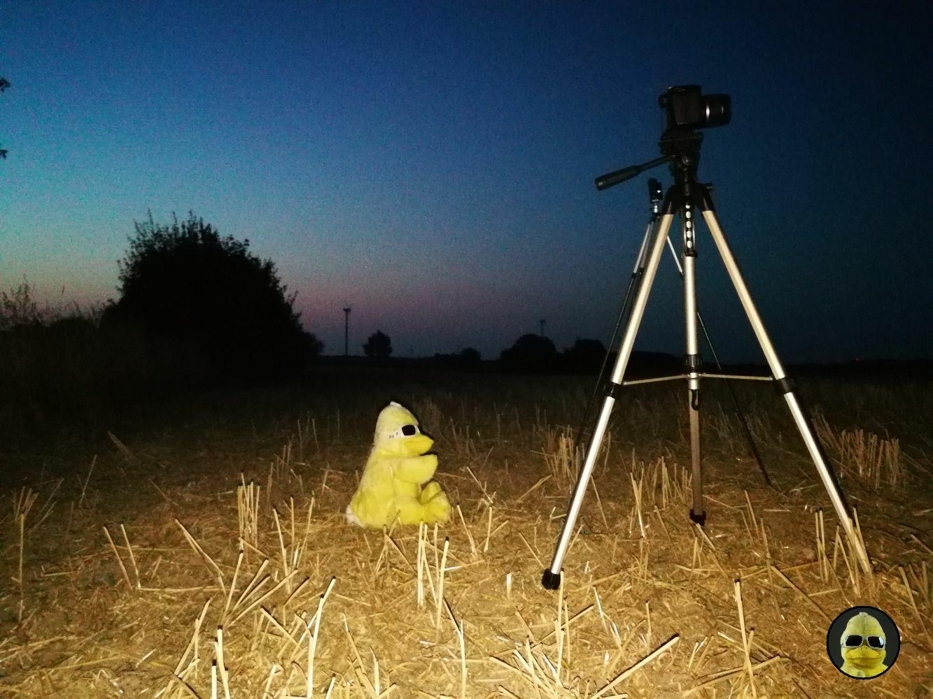 BigB ist mit Foto-Equipment bestens dafür gerüstet, die Mondfinsternis einzufangen. Kann also losgehen!